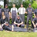 Wettkampfgruppe im Jahre 2009