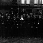 Ortsfeuerwehr Sarstedt unter Alfred Schrader im Jahre 1950