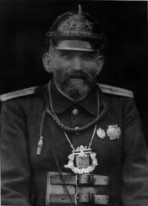 Friedrich Germann Gründer und 1. Hauptmann 1880 - 1881