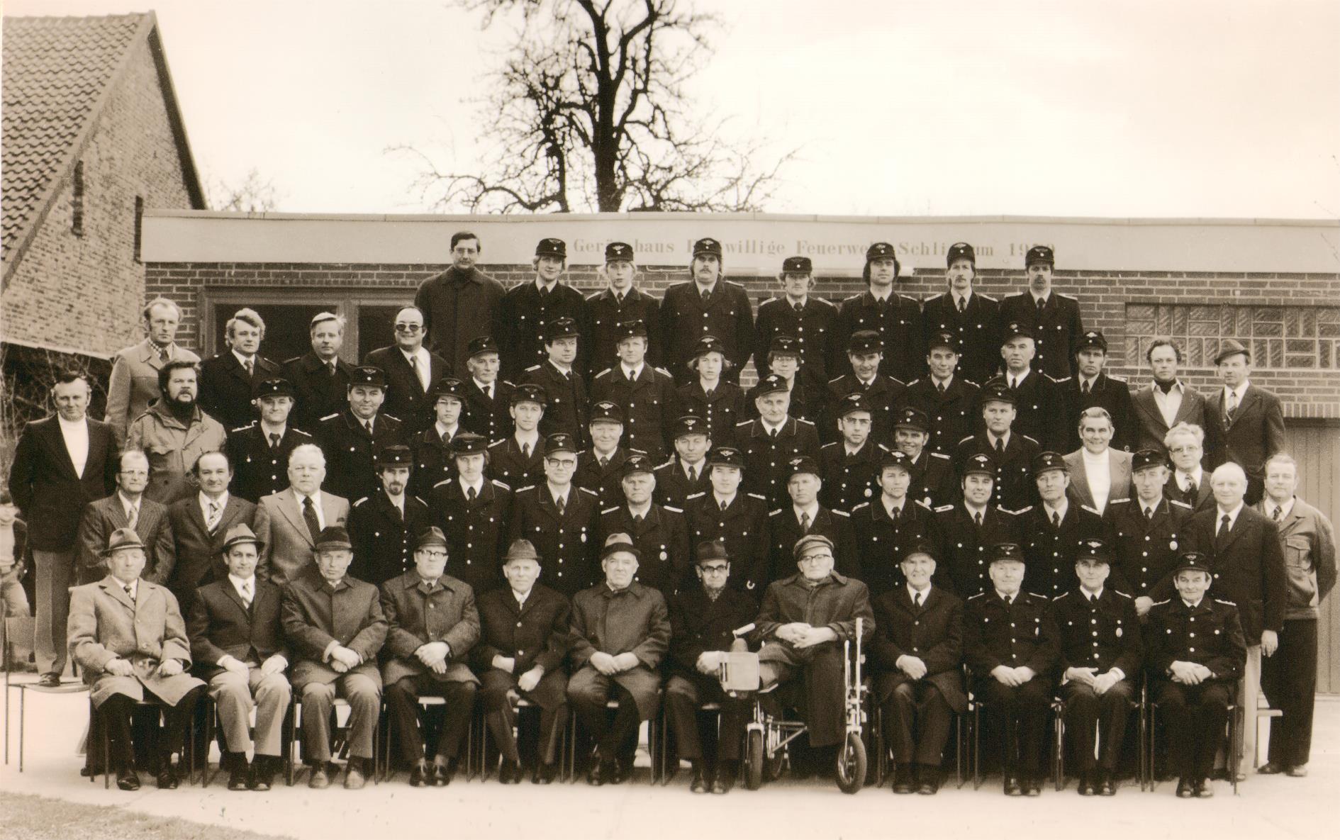 75 Jahre Ortsfeuerwehr Schliekum