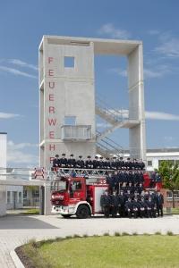 Einsatzabteilung der Feuerwehr Sarstedt im Jahre 2014